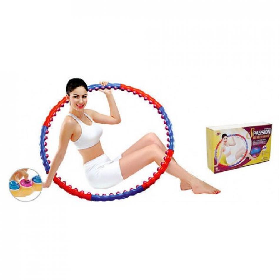 Обруч хулахуп с массажными элементами Health Hoop Passion S (2 кг)