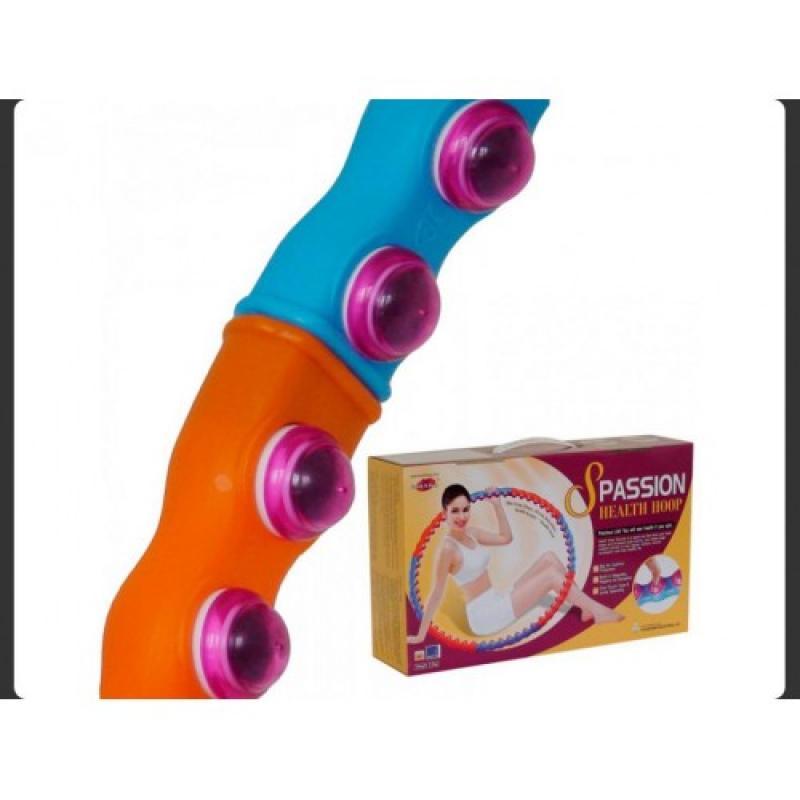 Обруч хулахуп с массажными элементами Health Hoop Passion S (2 кг) фото
