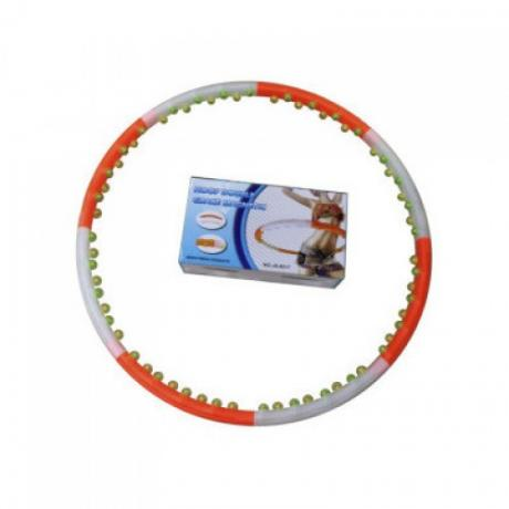 Массажный хулахуп Sports jS-6017 с магнитами (1,2 кг)