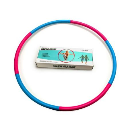 Мягкий хулахуп Fashion Hula Hoop, голубой-фиолетовый, (1 кг)