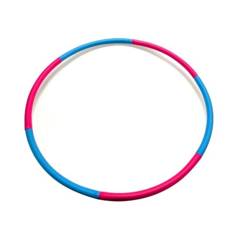 Мягкий хулахуп Fashion Hula Hoop, голубой-фиолетовый, (1 кг) фото