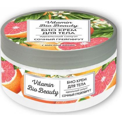 """Крем для тела Vitamin Bio Beauty  """"Идеальный силуэт - Сочный грейпфрут"""""""