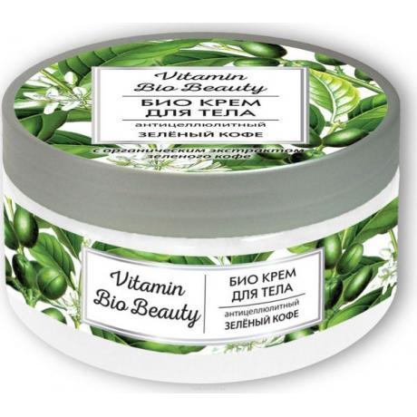 """Крем для тела Vitamin Bio Beauty """"Антицеллюлитный - Зеленый кофе"""""""