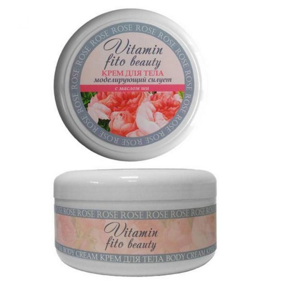 """Моделирующий крем Vitamin Fito Beauty """"Роза и масло ши"""""""
