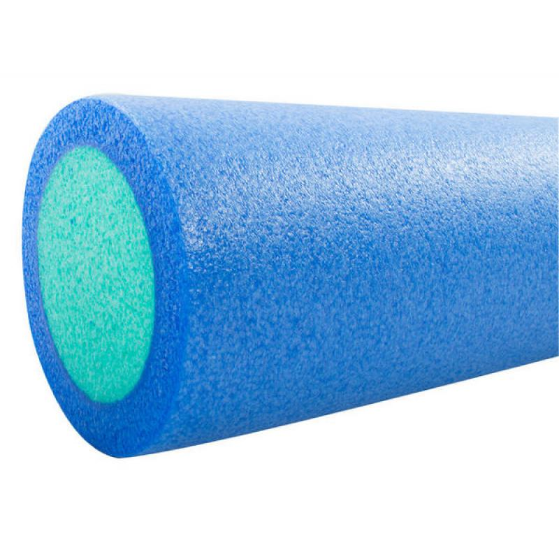 Ролик для йоги и пилатеса Star Fit FA-501, 15х45 см, синий/голубой фото