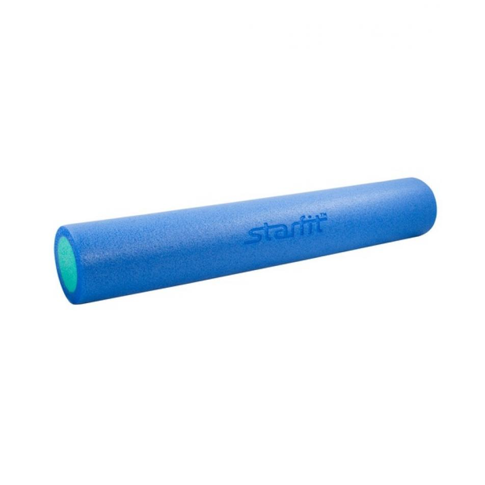 Ролик для йоги и пилатеса Star Fit FA-502, 15х90 см, синий/голубой