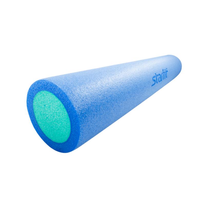 Ролик для йоги и пилатеса Star Fit FA-502, 15х90 см, синий/голубой фото