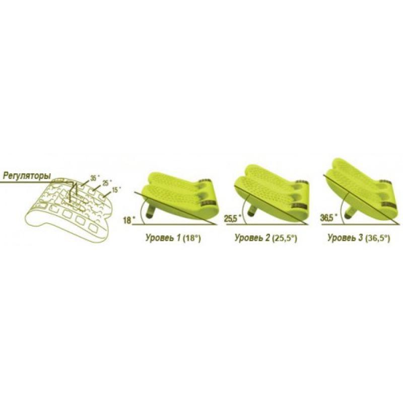 Массажер для ног и спины Health Hoop Magic Stretch 2 в 1 фото