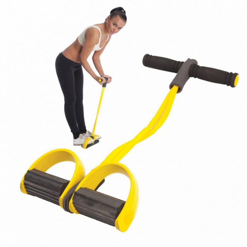 Тренажер Bradex для фитнеса с эспандерами «ФИТНЕС-ТРЕНЕР» фото