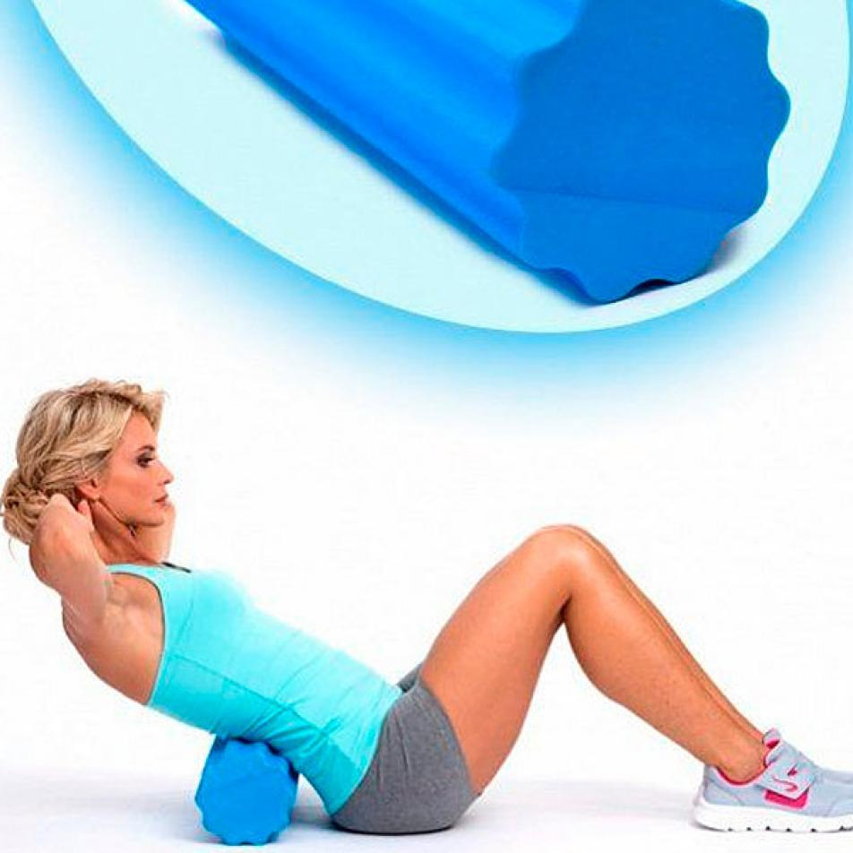 Валик для фитнеса массажный «РОЛЛЕР»