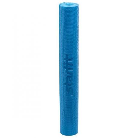 Коврик для йоги 173x61x0,8 см, синий STARFIT