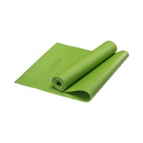 Коврик для йоги 173x61x0,8 см, зеленый STARFIT