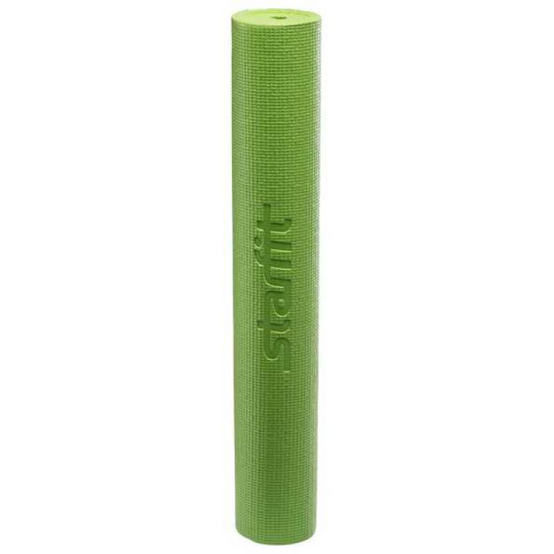 Коврик для йоги 173x61x0,8 см, зеленый STARFIT фото