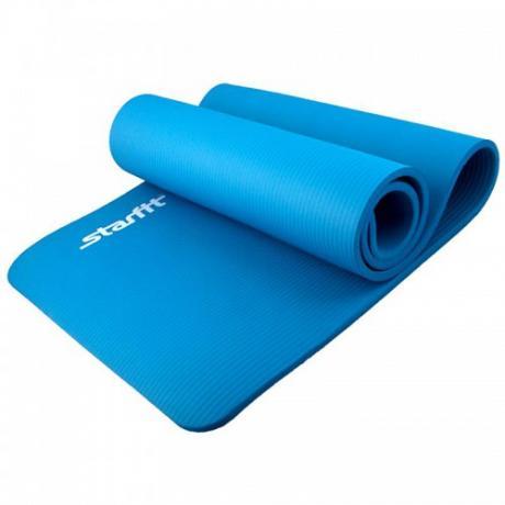 Коврик для йоги NBR, 183x58x1,2 см, синий STARFIT