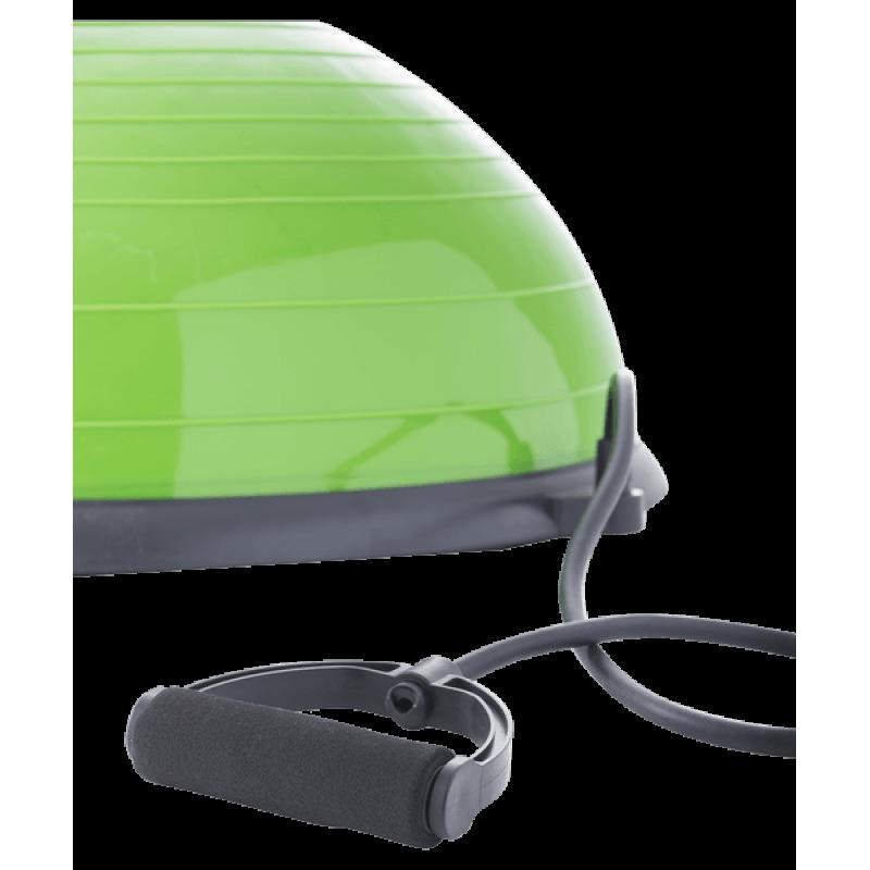 Полусфера BOSU GB-501 с эспандерами, с насосом, зеленыйStarfit фото