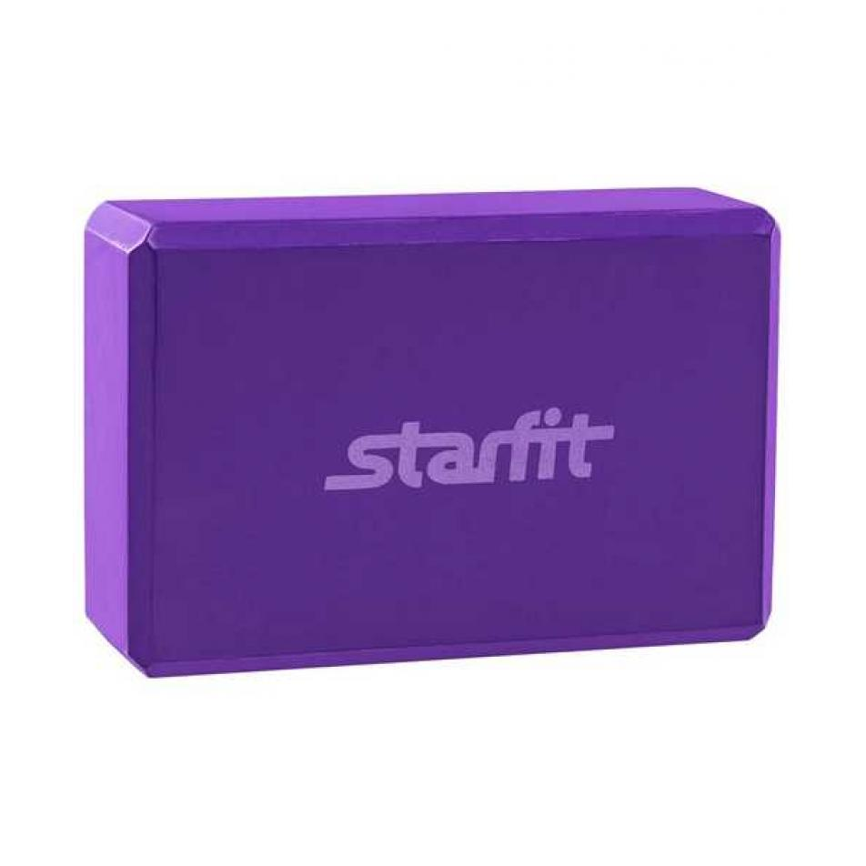 Блок для йоги FA-101 EVA, фиолетовый