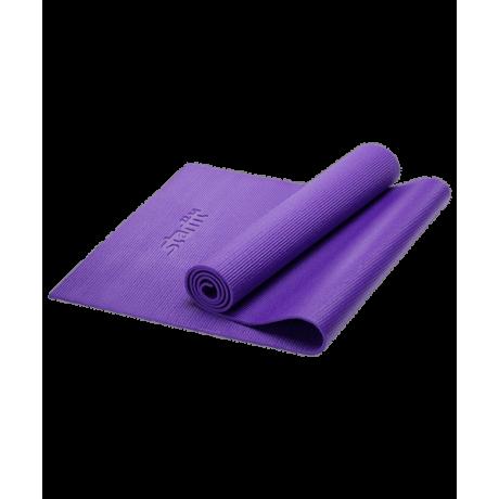 Коврик для йоги FM-101, PVC, 173x61x0,6 см, фиолетовый Starfit