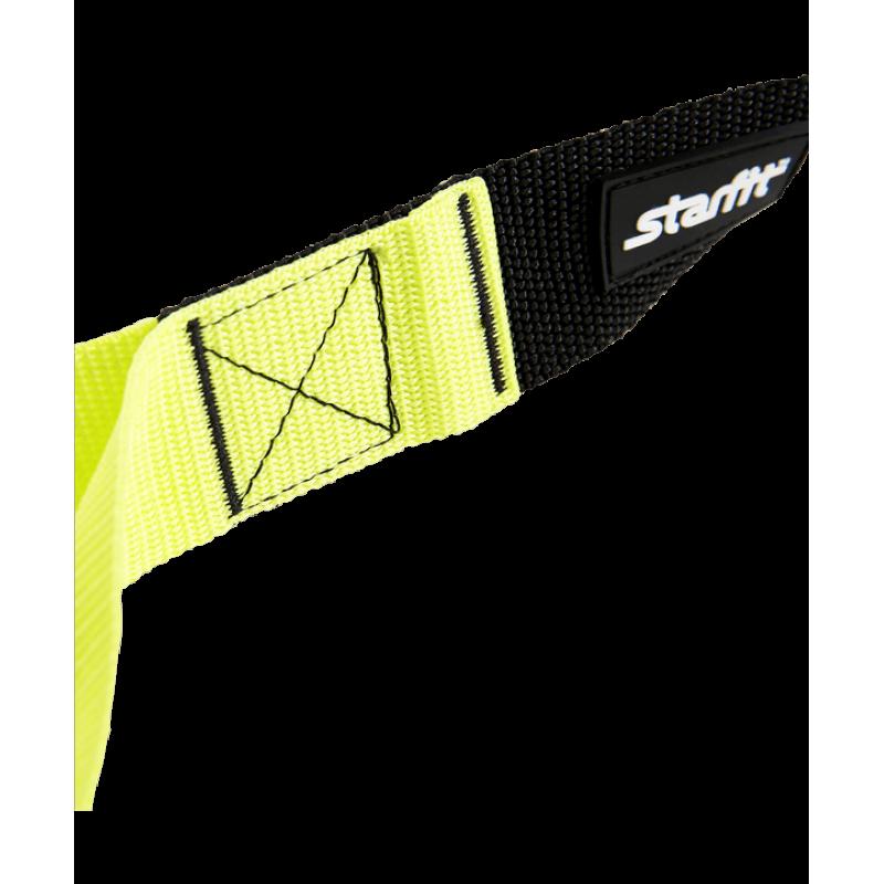 Тренировочные петли FA-701, черный/зеленыйStarfit фото