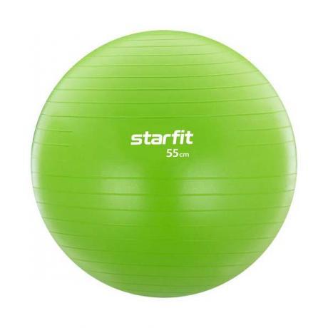 Фитбол GB-104, 55 см зеленый, антивзрыв