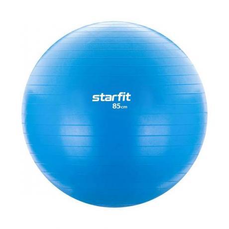 Фитбол GB-104, 85 см, без насоса, голубой, антивзрыв