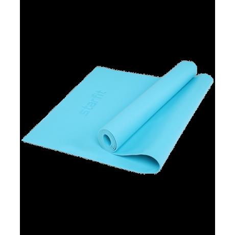 Коврик для йоги FM-103, PVC HD, 173x61x0,4 см, голубойStarfit
