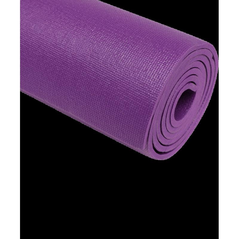 Коврик для йоги FM-103, PVC HD, 173x61x0,6 см, фиолетовыйStarfit фото