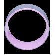 Колесо для йоги YW-101, 32 см, серо-розовый фотографии