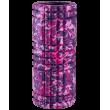 Ролик массажный FA-508, 33x14 cм, розовый камуфляж/черный фотографии