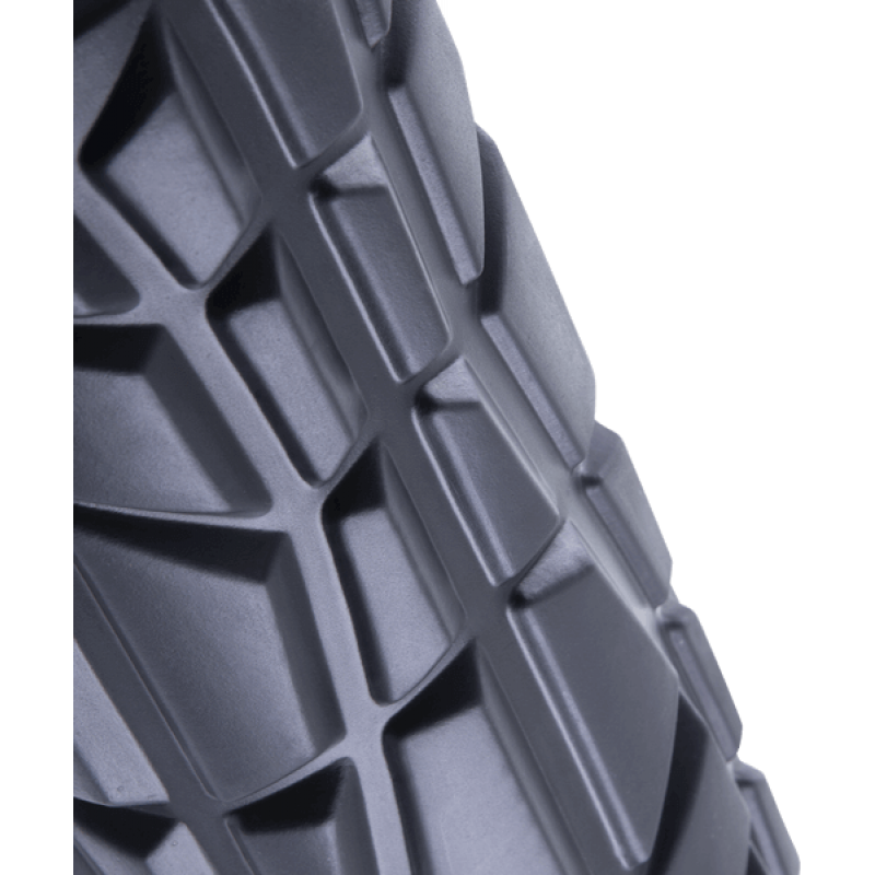 Ролик массажный FA-509, 33x13,5 cм, высокая жесткость, черный/оранжевый фото
