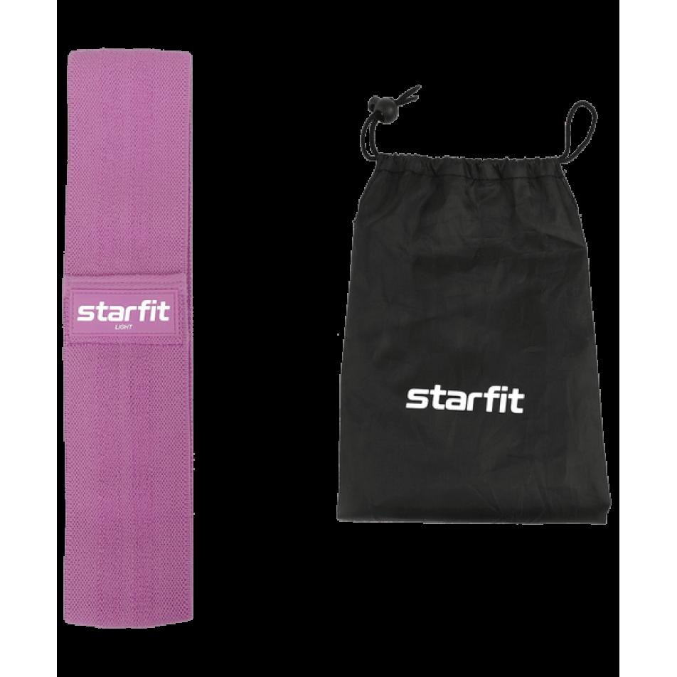 Мини-эспандер ES-204 тканевый, низкая нагрузка, фиолетовыйStarfit