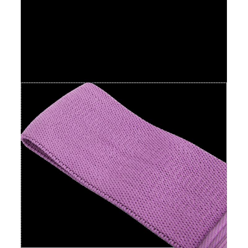 Мини-эспандер ES-204 тканевый, низкая нагрузка, фиолетовыйStarfit фото