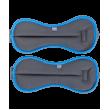 Утяжелители универсальные WT-501, 1 кг, серый/синий фото