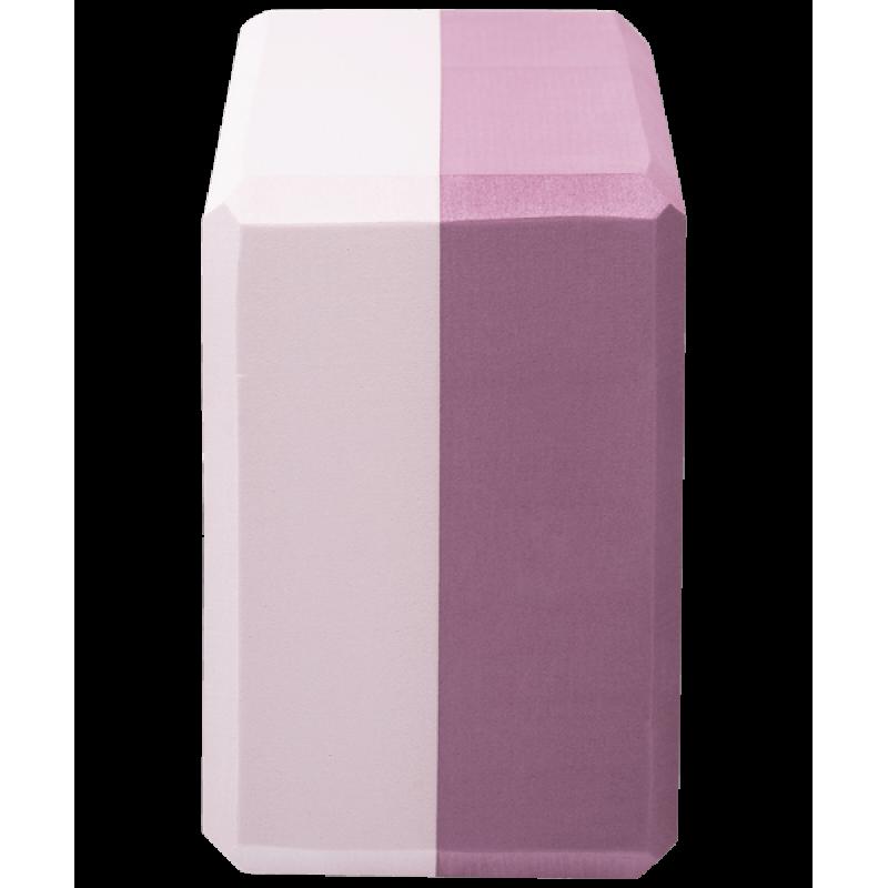 Блок для йоги YB-201 EVA, 22,8х15,2х10 см, 350 гр, пыльная розаStarfit фото